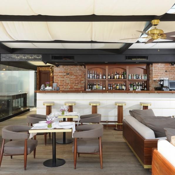 Rooftop Terrace Bar Le Bar De La Terrasse Teras Bar