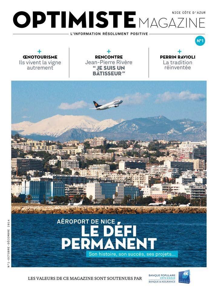 Cover Optimiste Magazine
